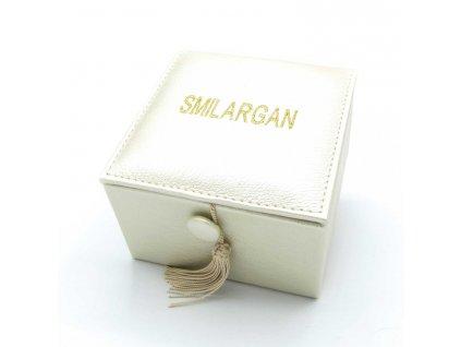 Krabička - šperkovnice Smilargan - béžová