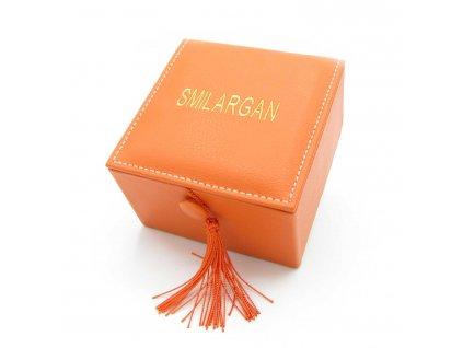 Krabička - šperkovnice Smilargan - oranžová