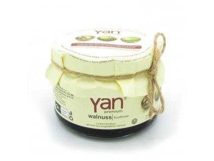 Marmeláda - vlašské ořechy - Yan 300g
