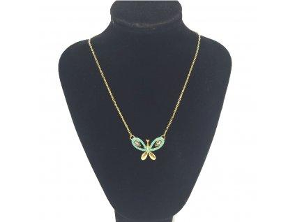 retizek kelebek tyrkysovy